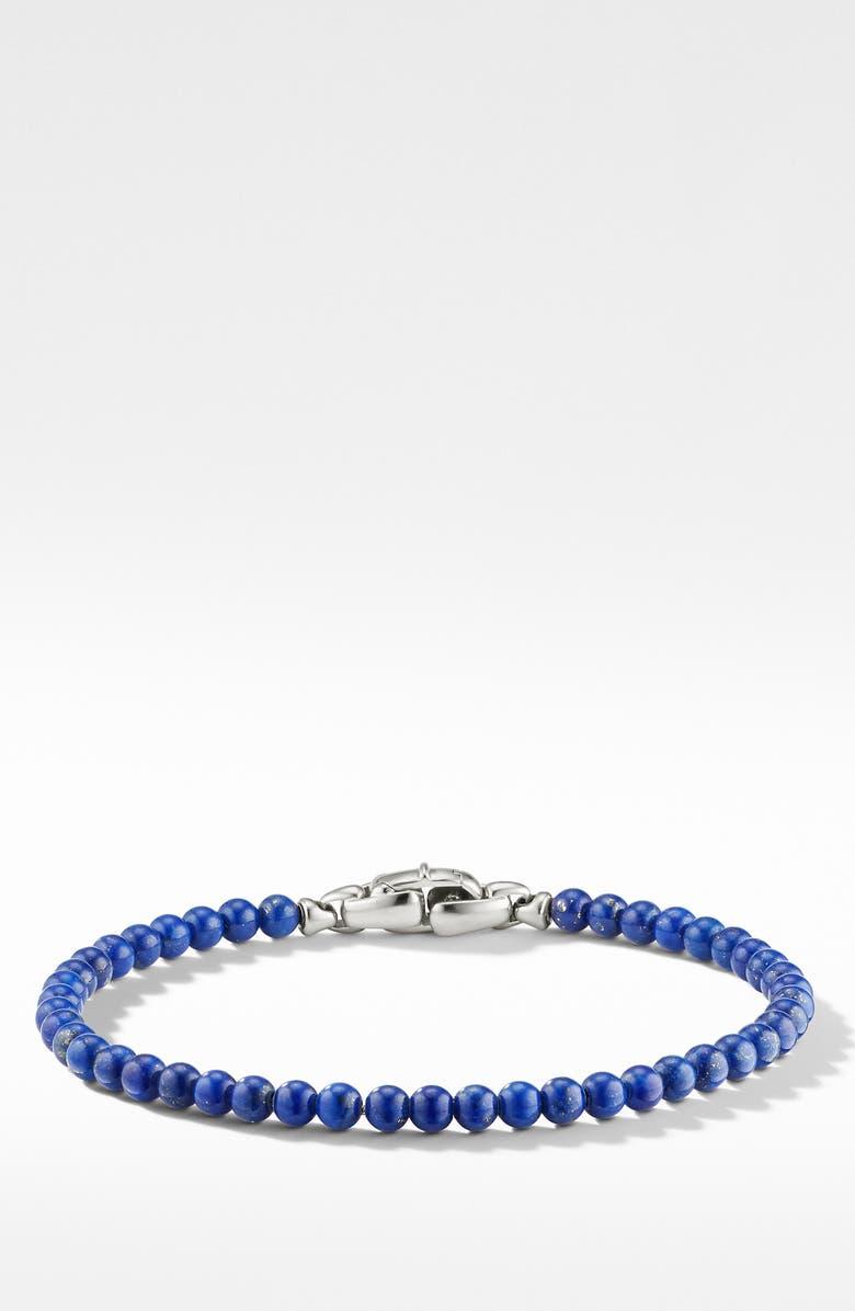 DAVID YURMAN Spiritual Beaded Bracelet, Main, color, LAPIS
