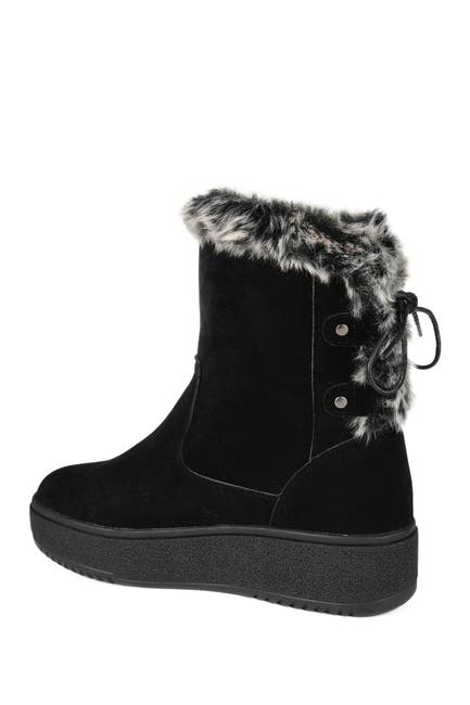 Image of JOURNEE Collection DO NOT SELL Kaskae Winter Faux Fur Lined Boot
