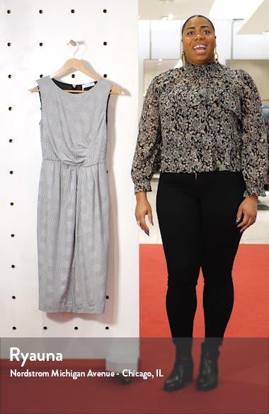 Venezia Sleeveless Sheath Dress, sales video thumbnail