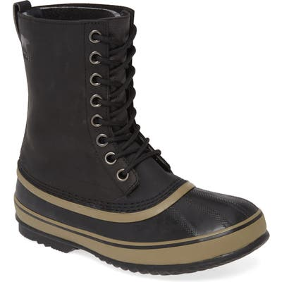 Sorel 1964 Waterproof Boot, Black