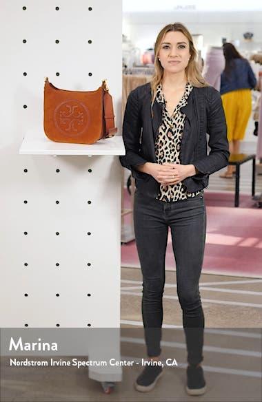 Ella Whipstitch Leather Crossbody Bag, sales video thumbnail