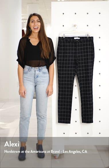 Skinny Fit Check Pants, sales video thumbnail