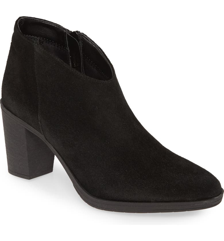 THE FLEXX Out West Bootie, Main, color, BLACK SUEDE