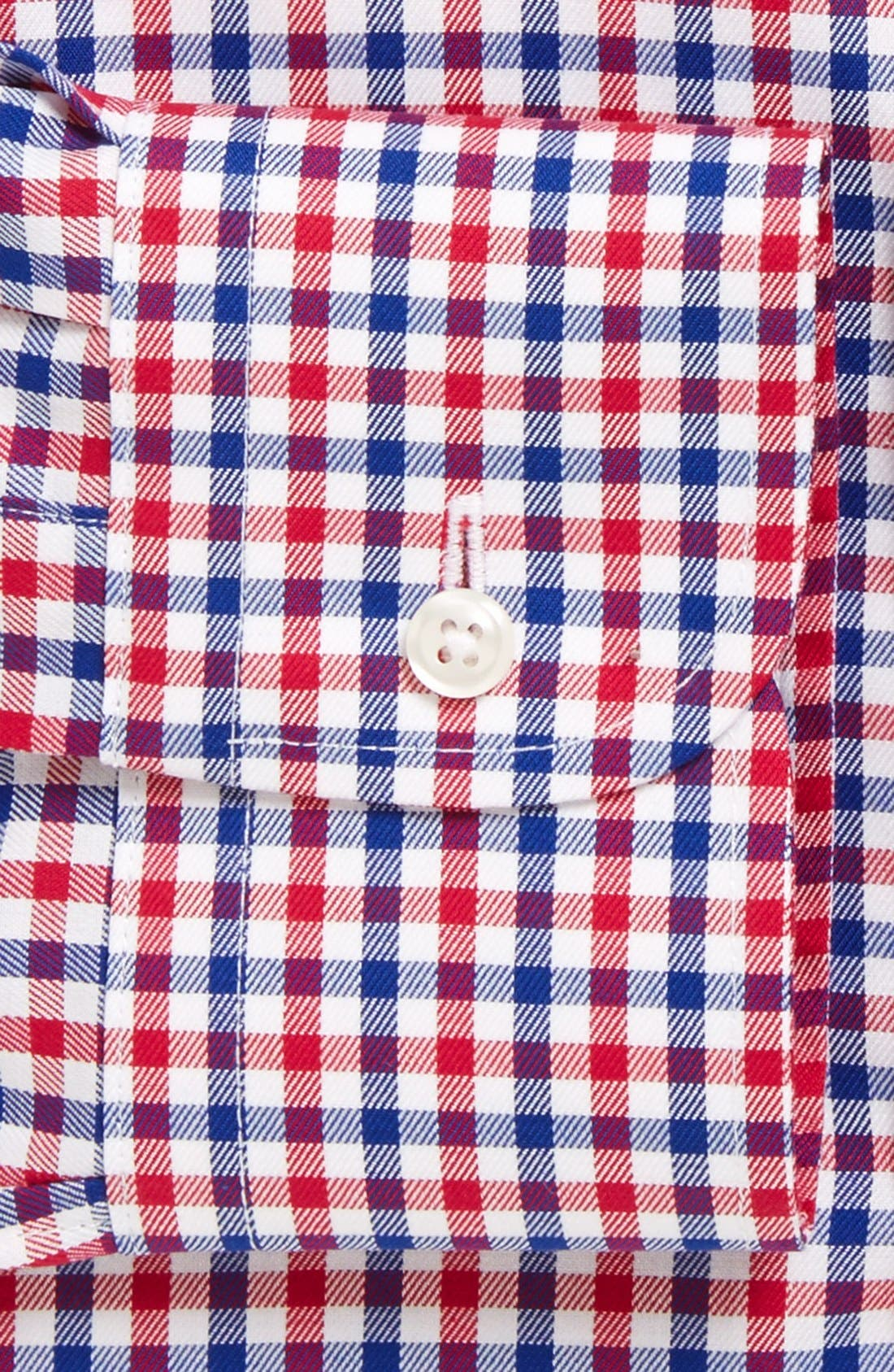 ,                             Traditional Fit Non-Iron Check Dress Shirt,                             Alternate thumbnail 2, color,                             630
