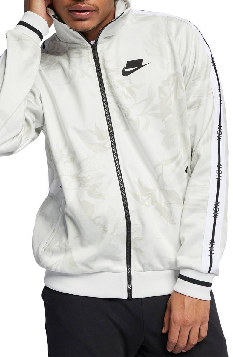 NIKE Sportswear NSW Track Jacket, Main, color, SUMMIT WHITE/ BLACK