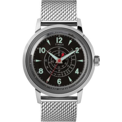 Timex X Todd Snyder Beekman Mesh Strap Watch, 40Mm