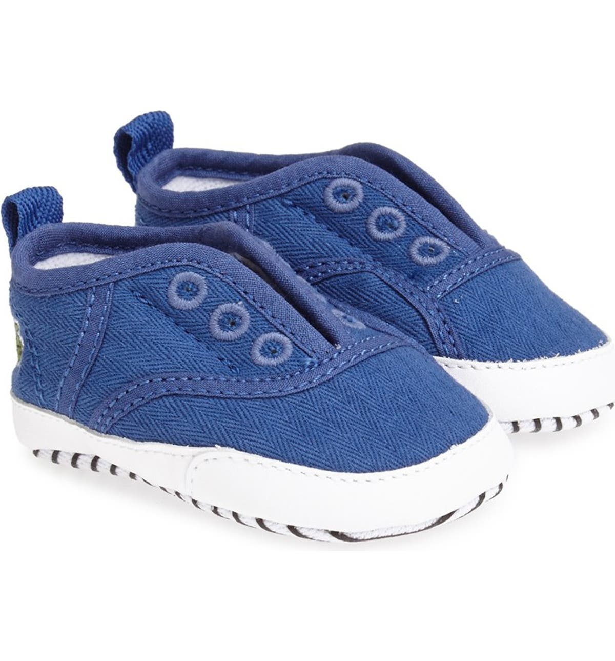 2d41f35c Lacoste 'Rene' Crib Shoe (Baby) | Nordstrom