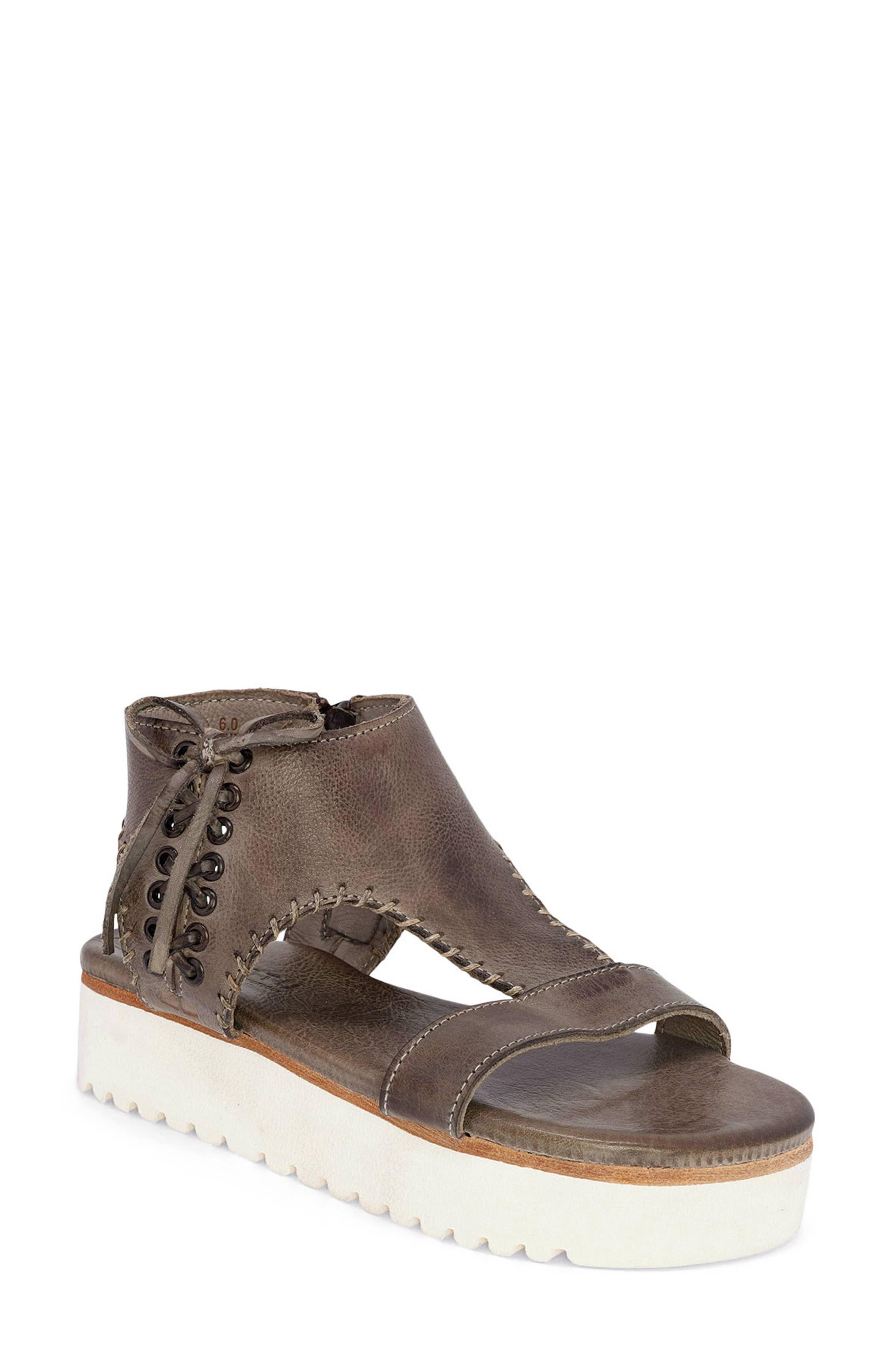 Zoe Platform Sandal
