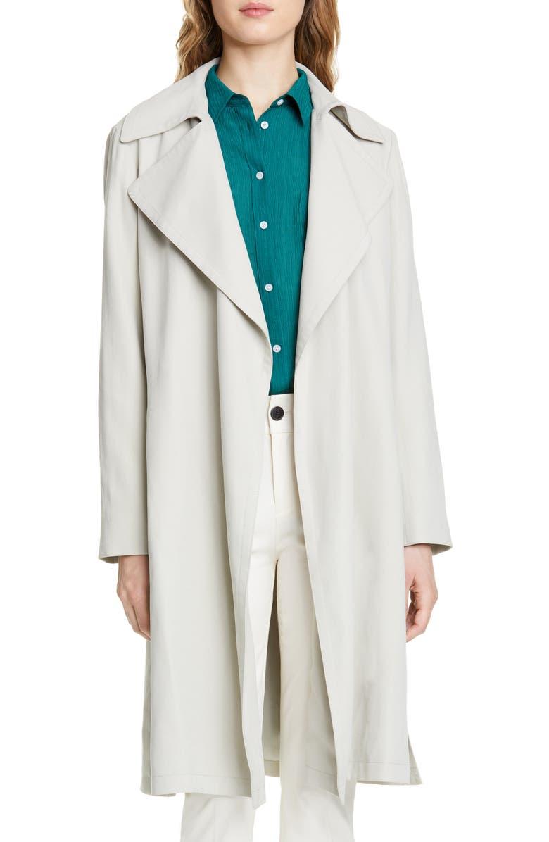 CLUB MONACO Eadyn Trench Coat, Main, color, 300