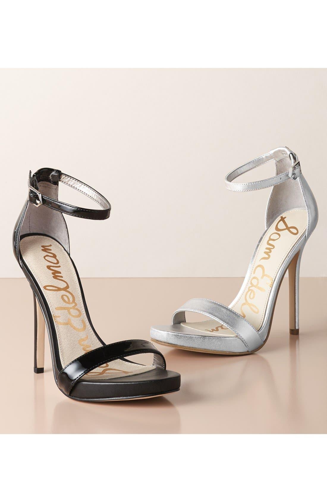 ,                             'Eleanor' Ankle Strap Sandal,                             Main thumbnail 1, color,                             400