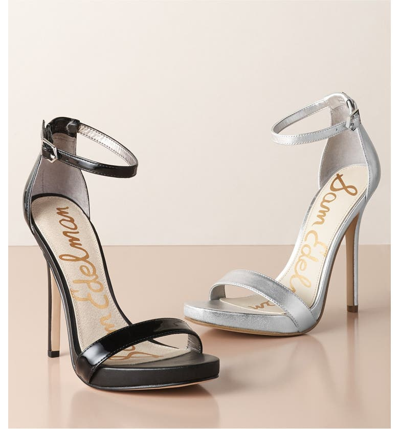 SAM EDELMAN 'Eleanor' Ankle Strap Sandal, Main, color, 400
