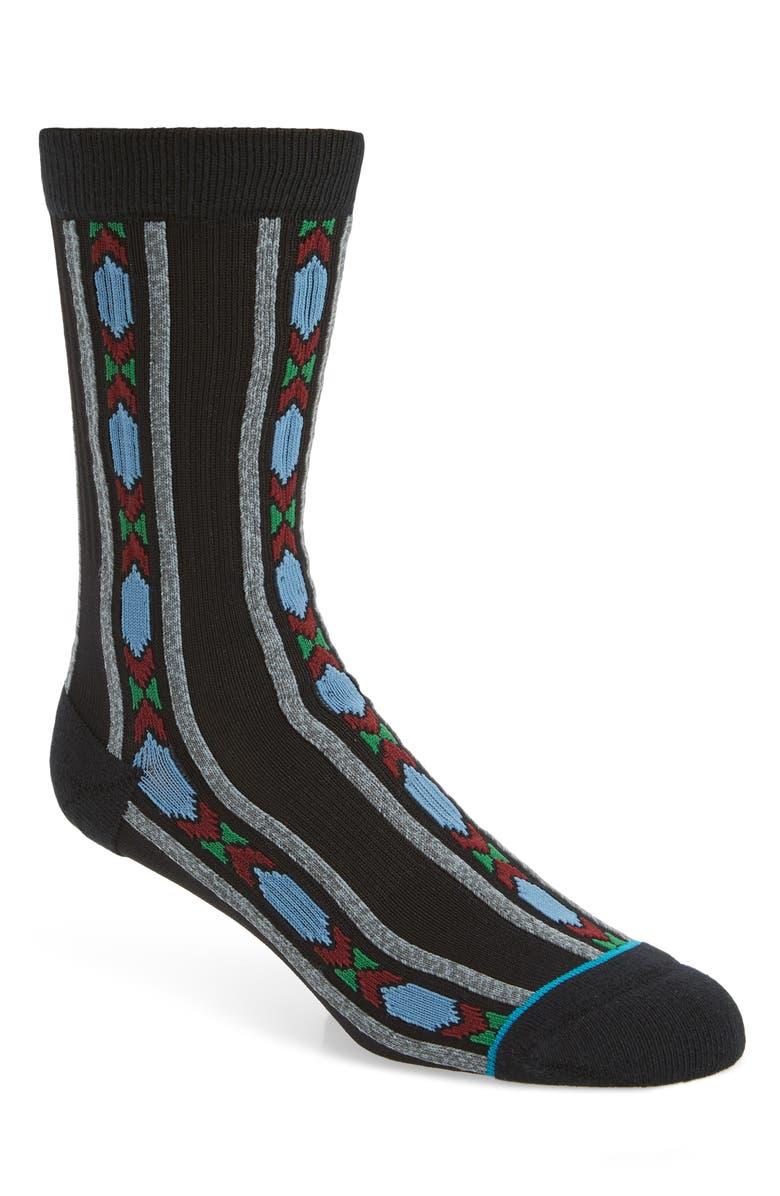 STANCE Lassen Socks, Main, color, BLACK
