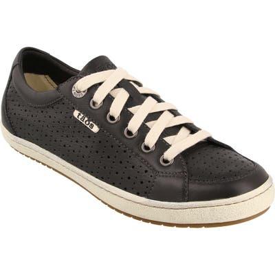 Taos Jester Lace-Up Sneaker- Black