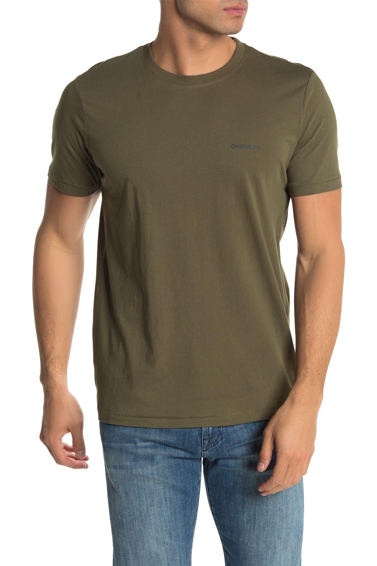Image of Diesel Jake Crew Neck Lounge T-Shirt
