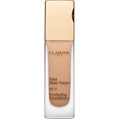 Clarins Everlasting Foundation+ Spf 15 - Wheat