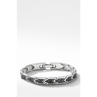 David Yurman Pave Diamond Link Bracelet