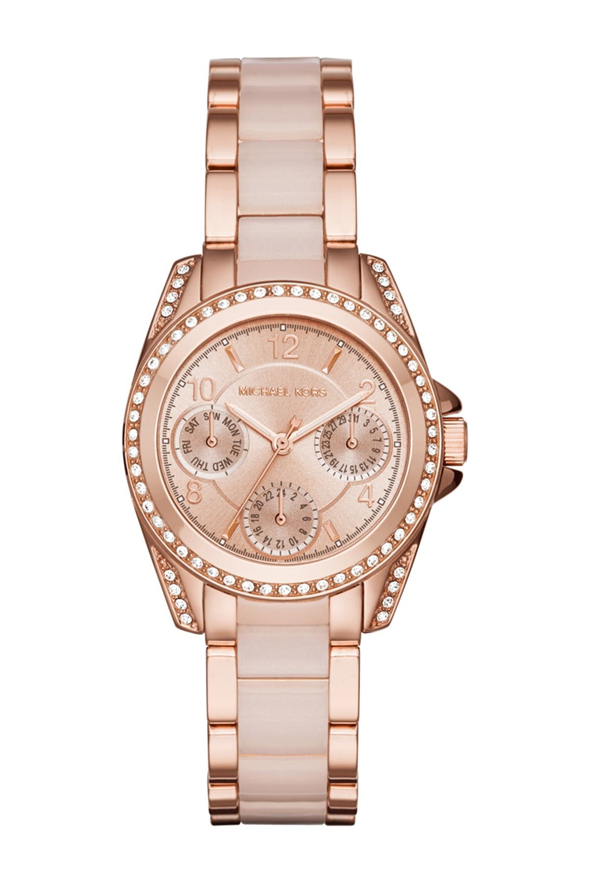 Image of MICHAEL Michael Kors Women's Mini Blair Multifunction Bracelet Watch, 33mm