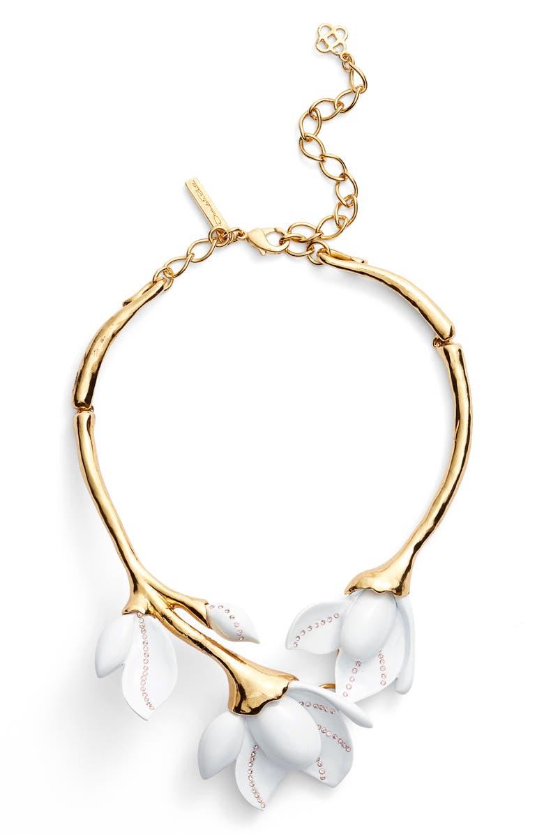 98d95e3bd Oscar de la Renta Magnolia Necklace | Nordstrom