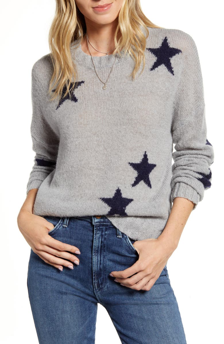 RAILS Perci Intarsia Wool Blend Sweater, Main, color, 023