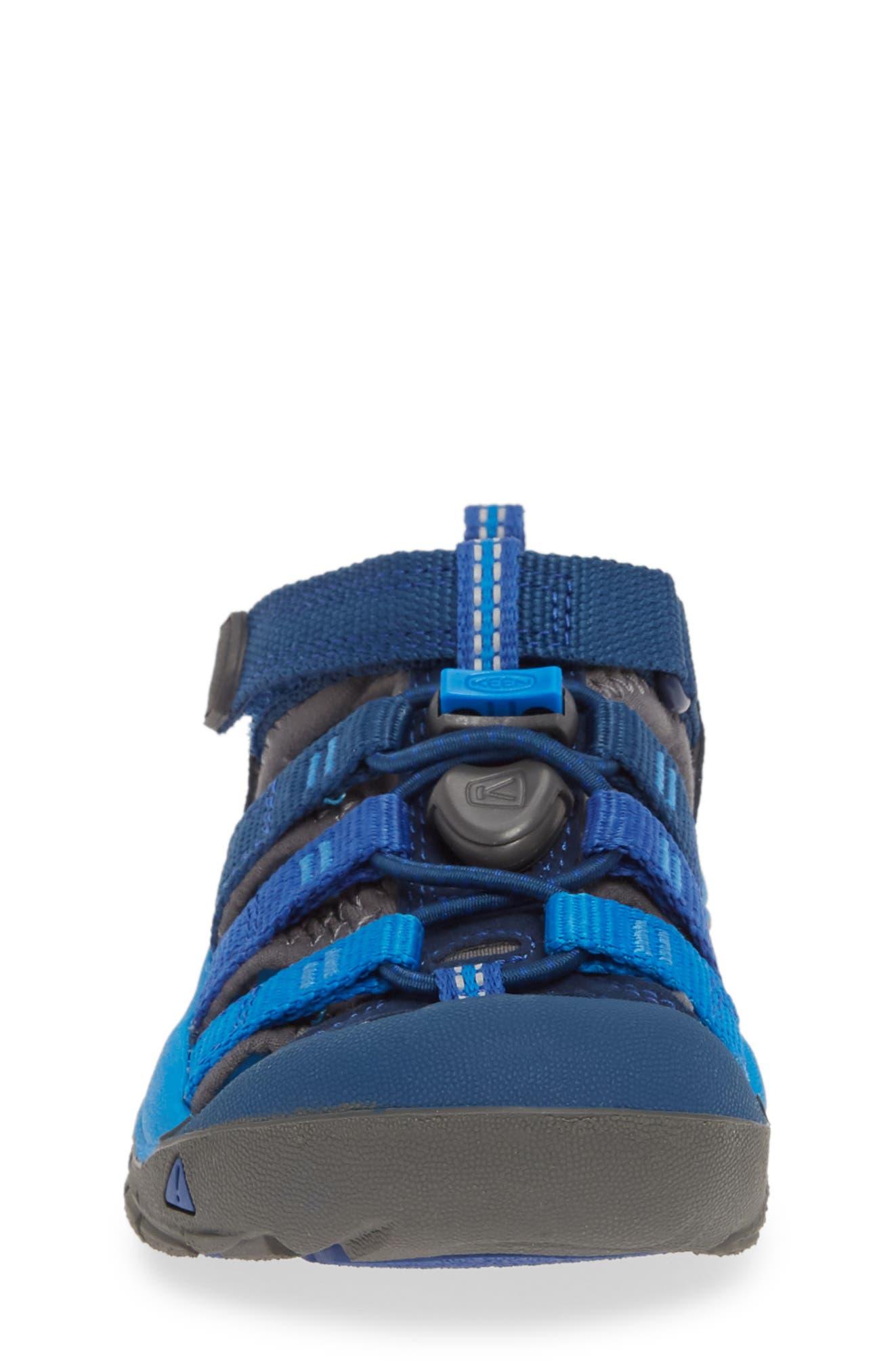 ,                             'Newport H2' Water Friendly Sandal,                             Alternate thumbnail 4, color,                             BLUE OPAL/ VIBRANT BLUE