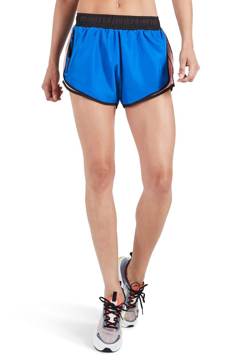 P.E NATION Sprint Vision Shorts, Main, color, 400