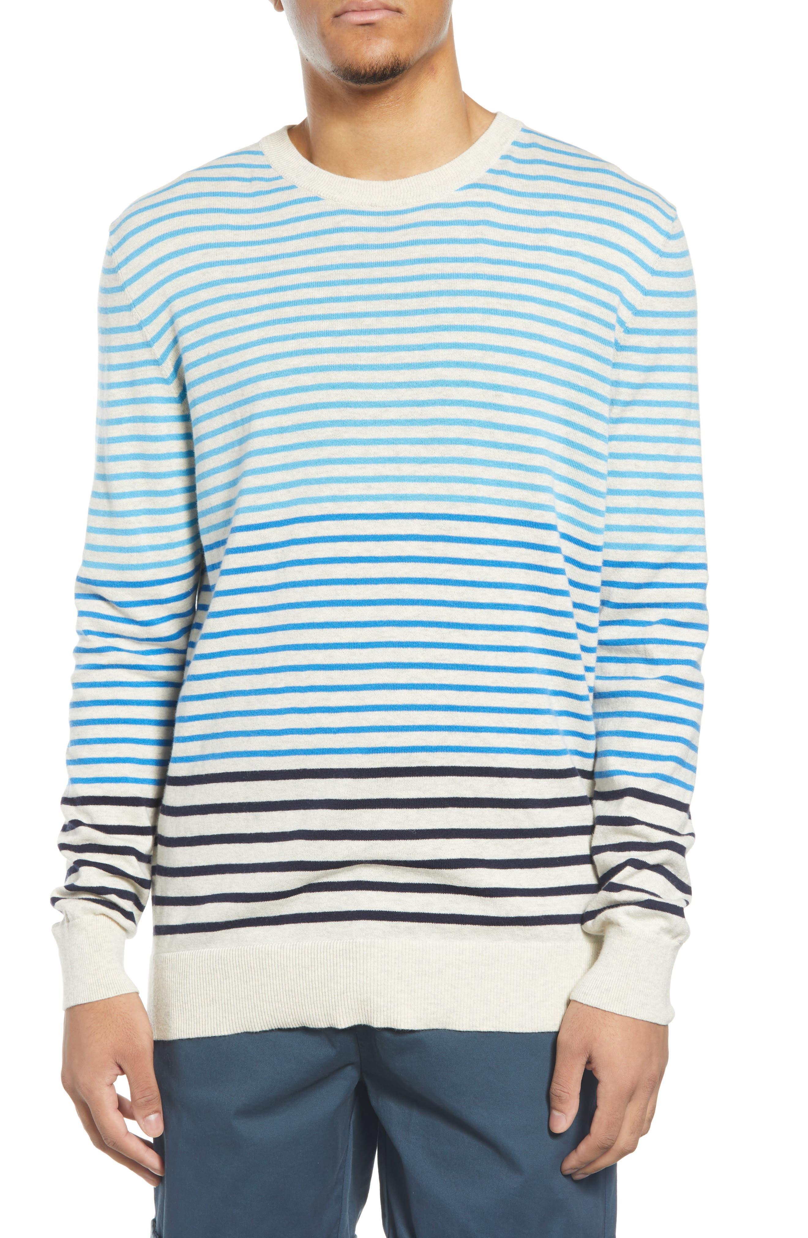 Scotch /& Soda Stripe Crewneck Sweater