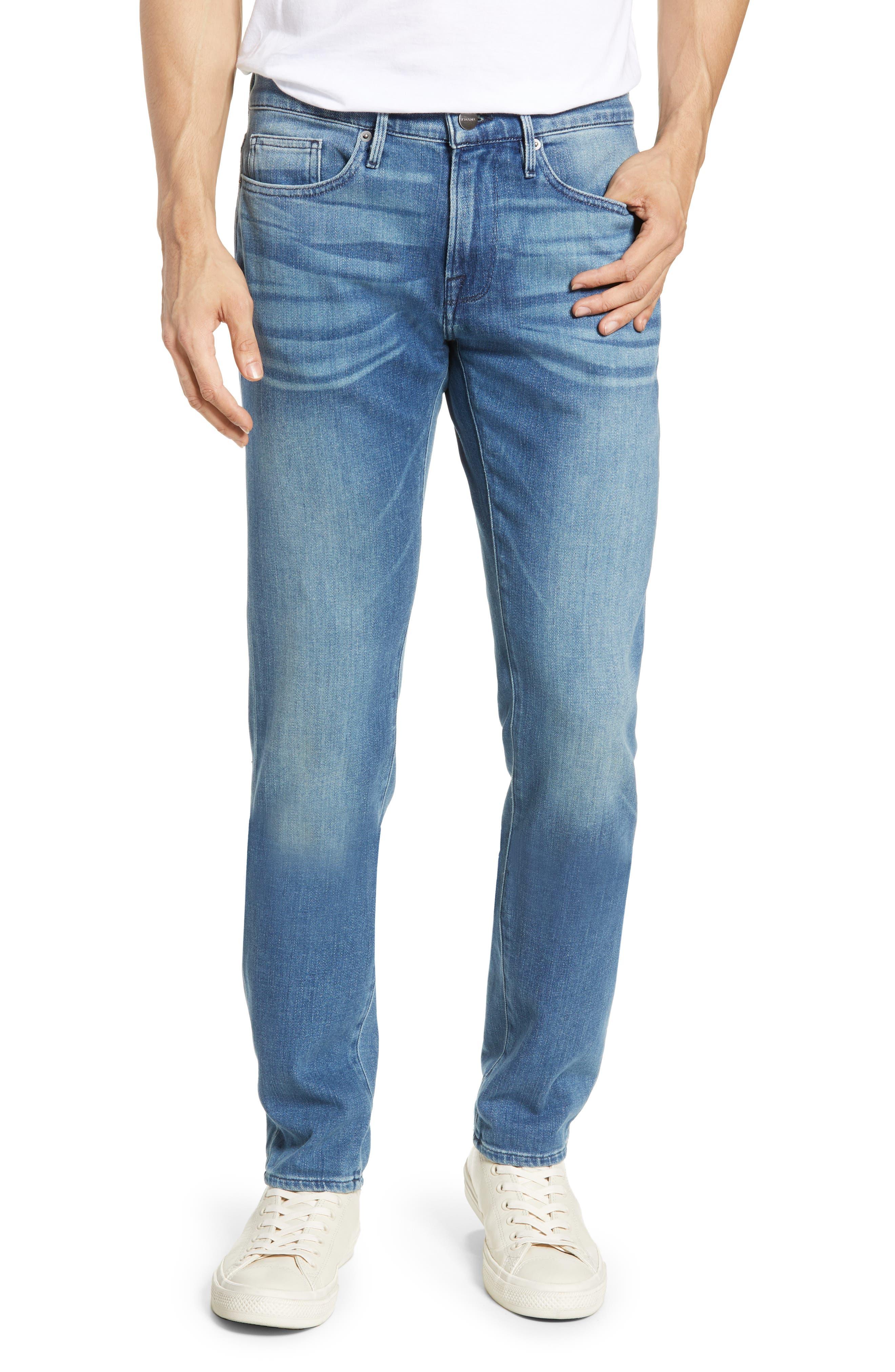 Men's Frame L'Homme Skinny Fit Jeans