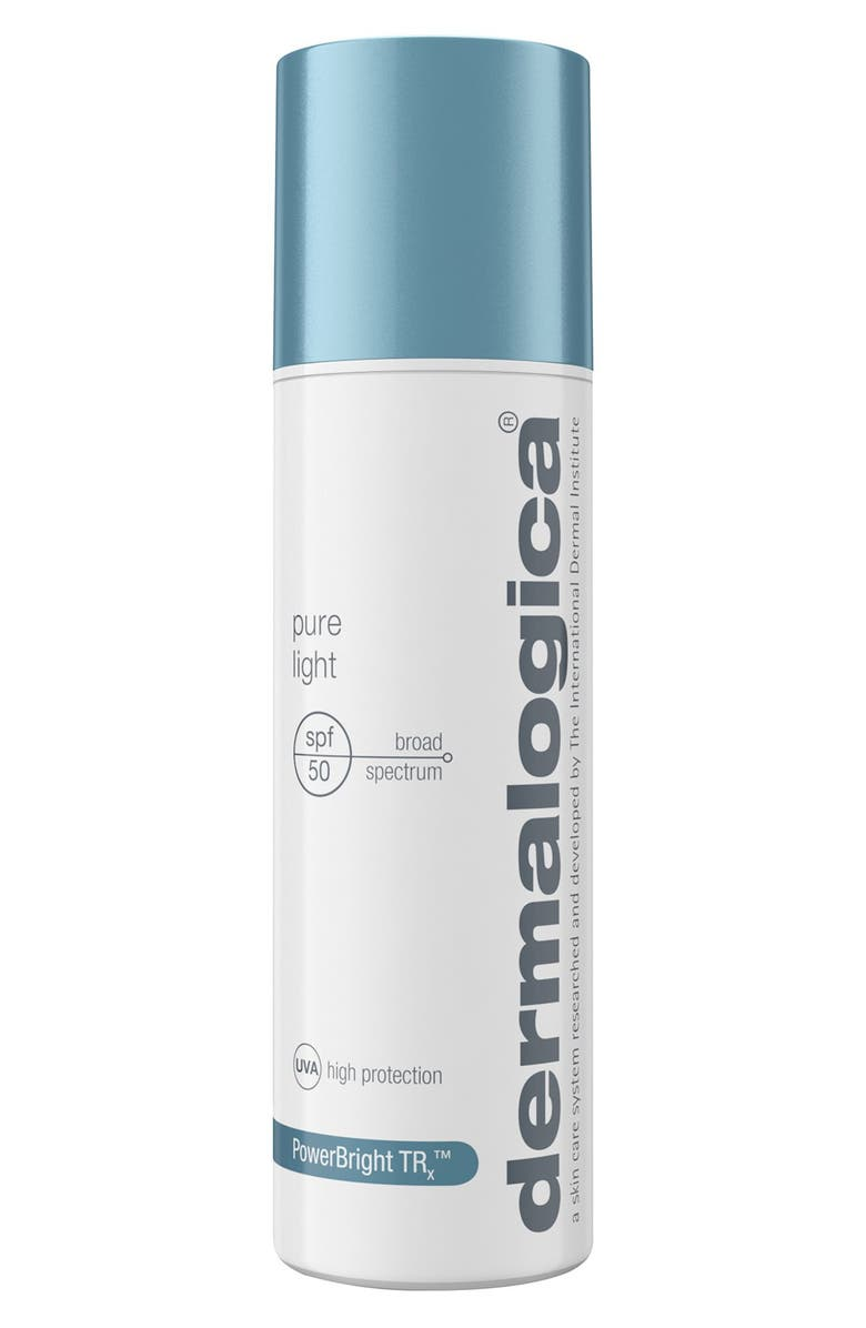 DERMALOGICA<SUP>®</SUP> Pure Light SPF 50 Sunscreen, Main, color, NO COLOR