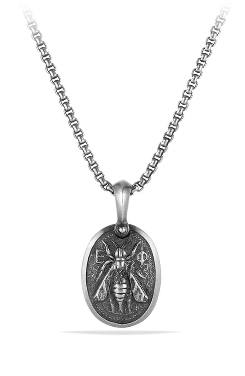 DAVID YURMAN Petrvs<sup>®</sup> Bee Amulet, Main, color, SILVER