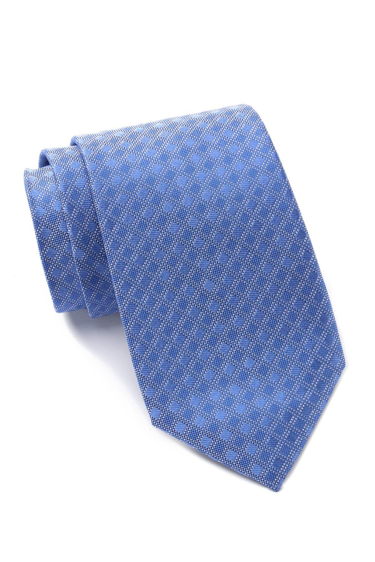 Image of Calvin Klein Multi Grid Dobby Silk Tie