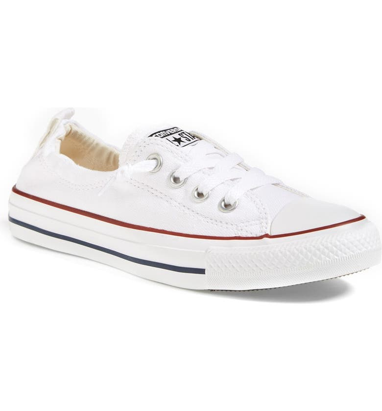 CONVERSE Chuck Taylor<sup>®</sup> Shoreline Sneaker, Main, color, WHITE