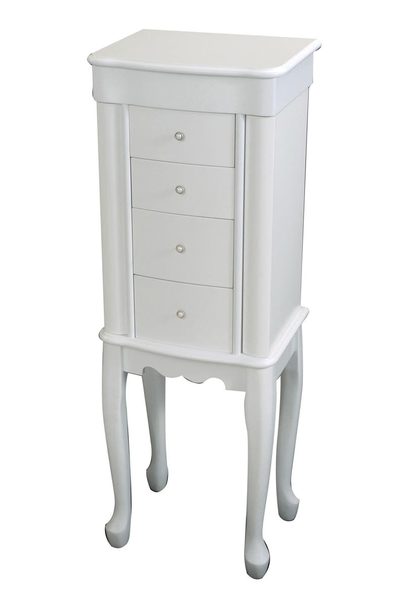 MELE & CO. Alexis Jewelry Armoire, Main, color, 100