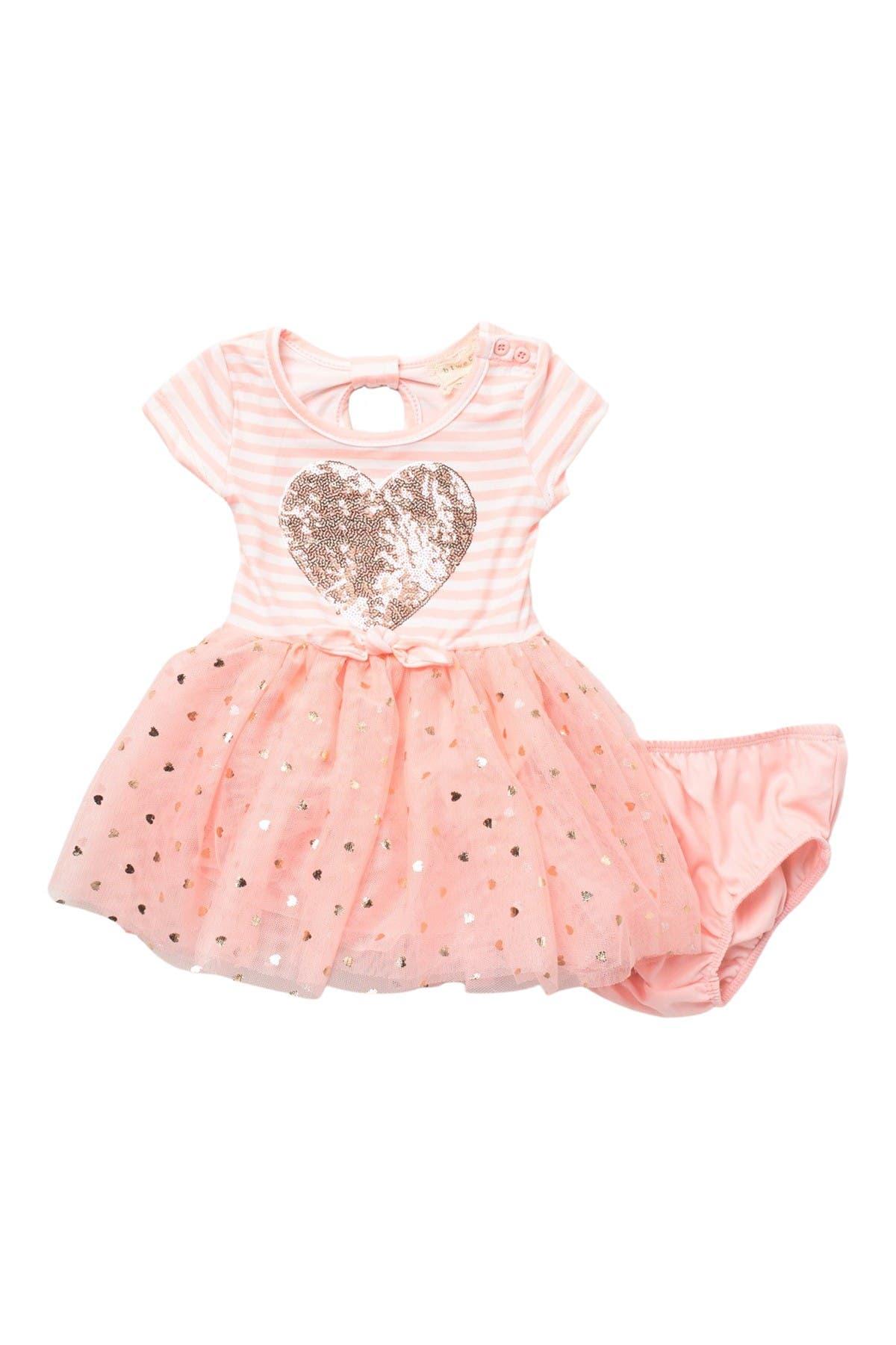 Image of Btween Striped Tutu Dress