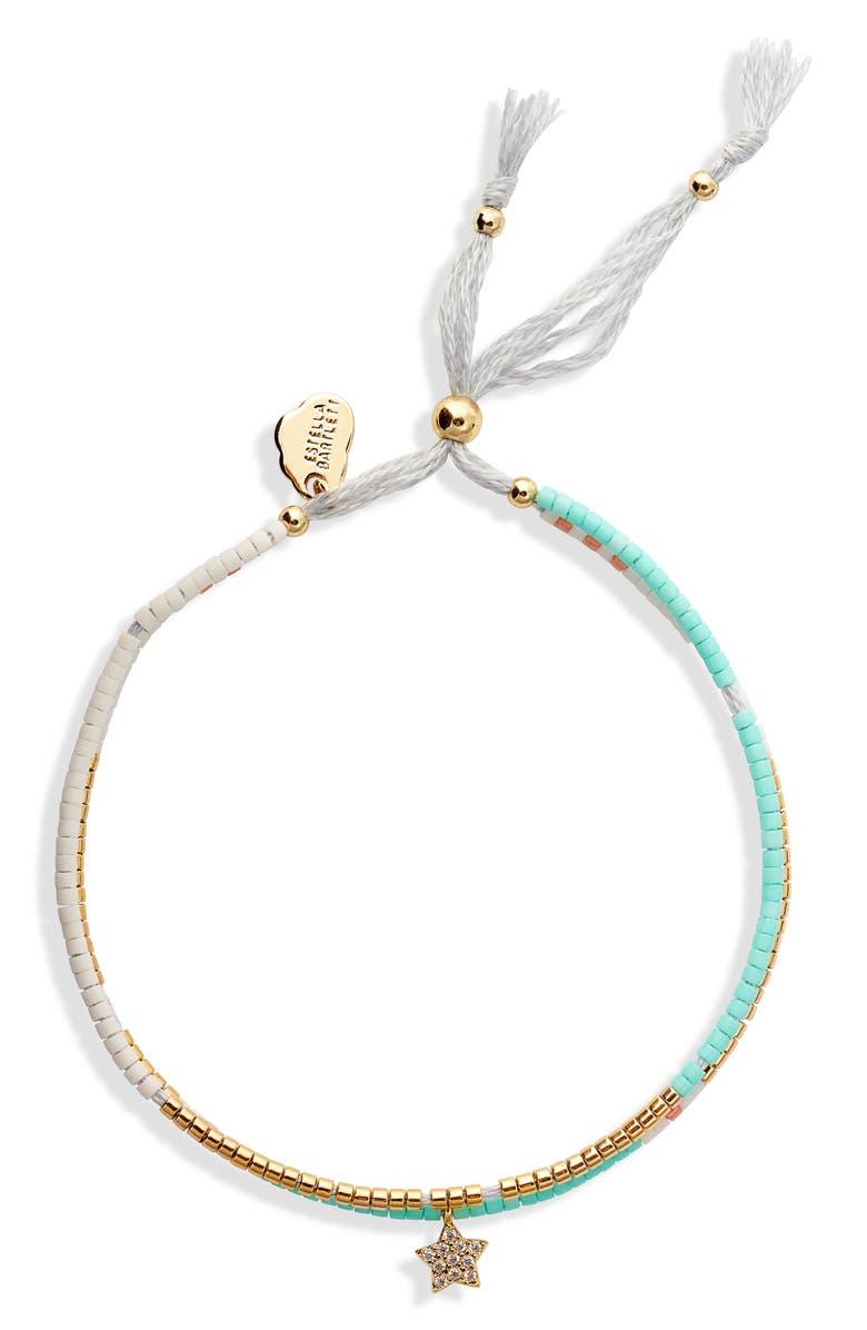 ESTELLA BARTLETT Phoebe Seed Bead Bracelet, Main, color, 710