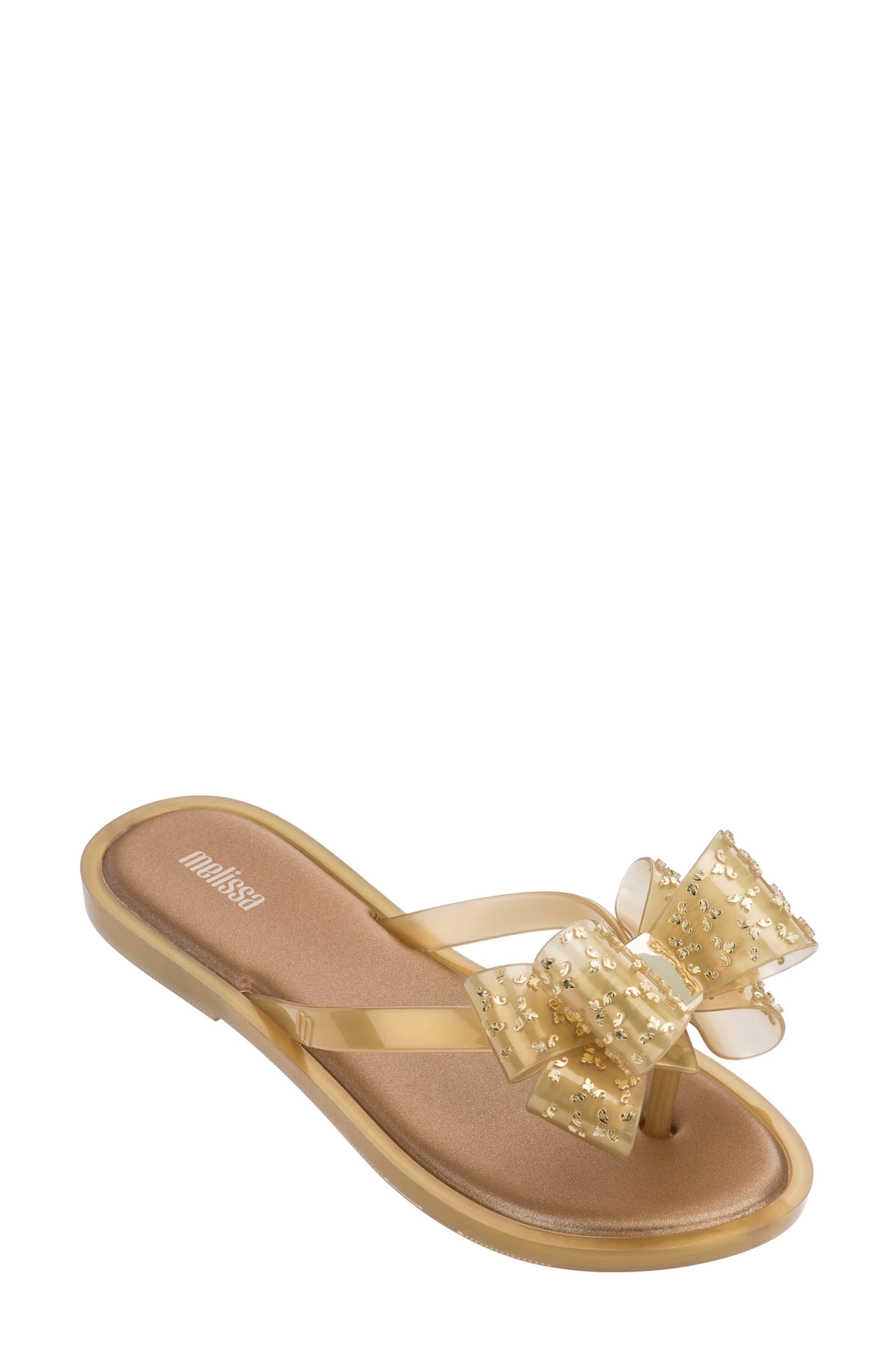 Melissa Sweet Flip Flop, Metallic