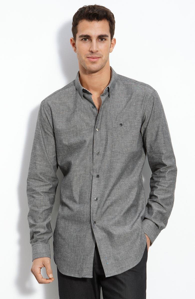 ROGAN 'Constant' Woven Shirt, Main, color, 021