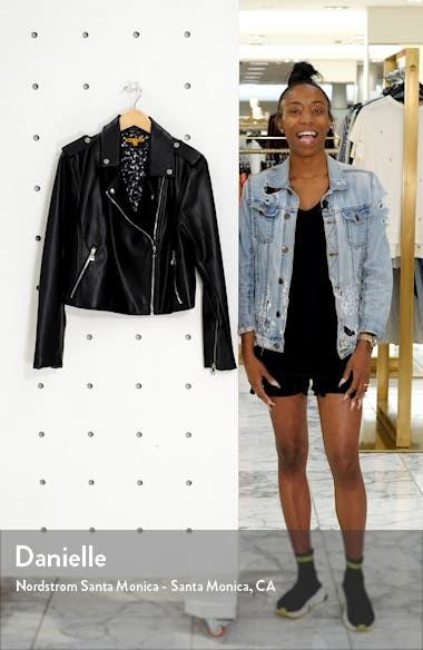 R29 x ELOQUII Crop Moto Jacket, sales video thumbnail