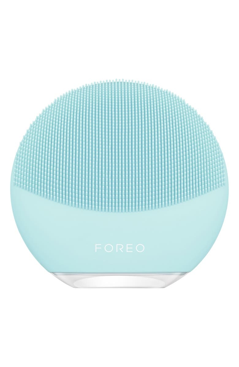 FOREO LUNA<sup>™</sup> mini 3 Compact Facial Cleansing Device, Main, color, MINT