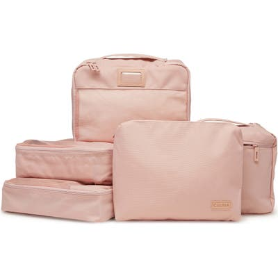 Calpak 5-Piece Packing Cube Set - Pink