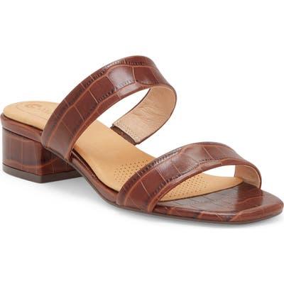 Cc Corso Como Faeya Slide Sandal- Brown