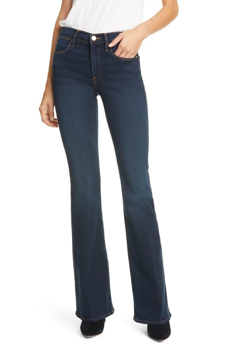 FRAME Le High Flare Jeans, Main, color, FONDA