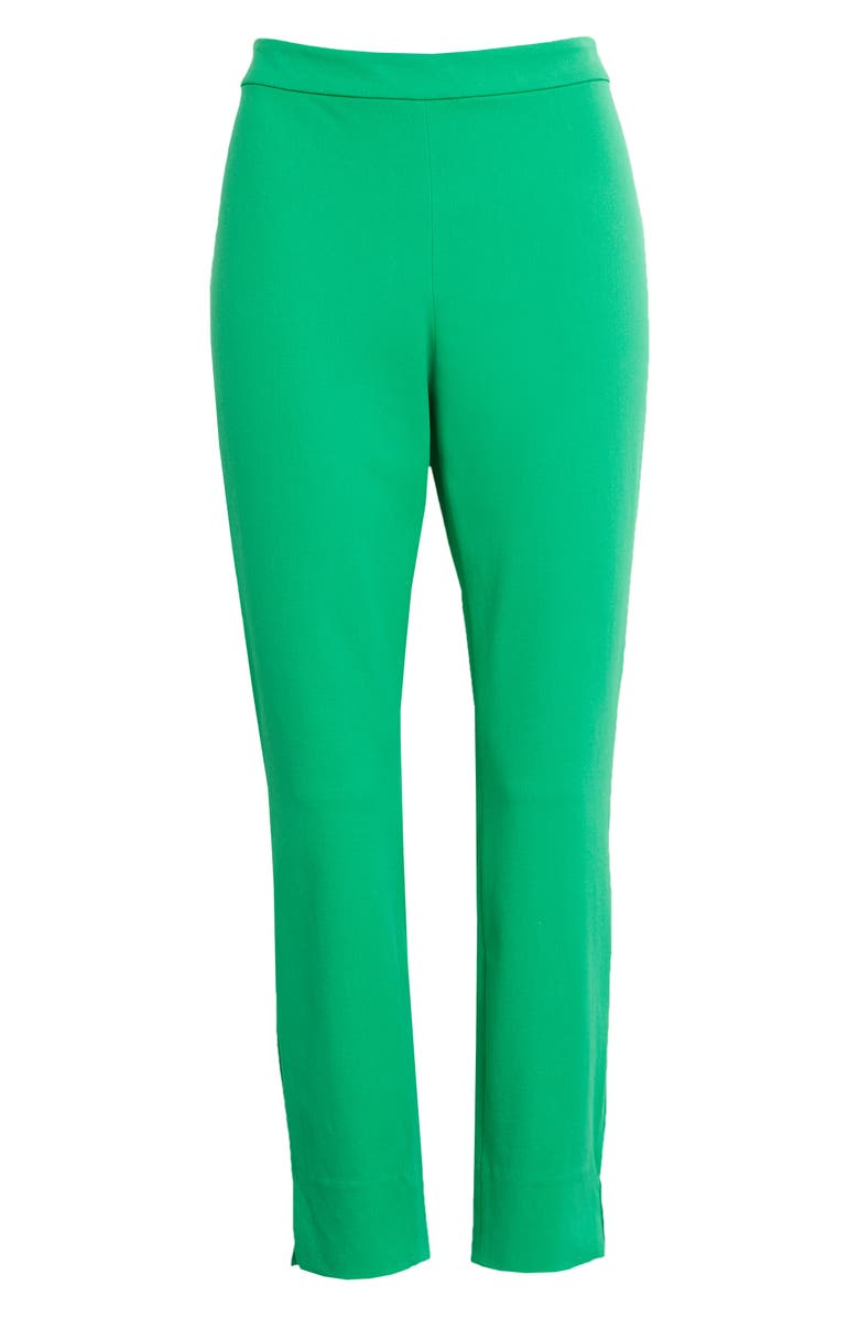 1901 Stretch Ankle Skinny Pants, Main, color, GREEN JOLLY