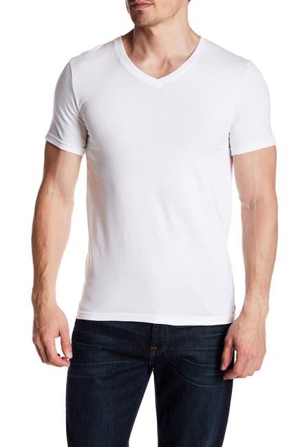 Image of Nordstrom Rack Stretch Cotton V-Neck T-Shirt - Pack of 3