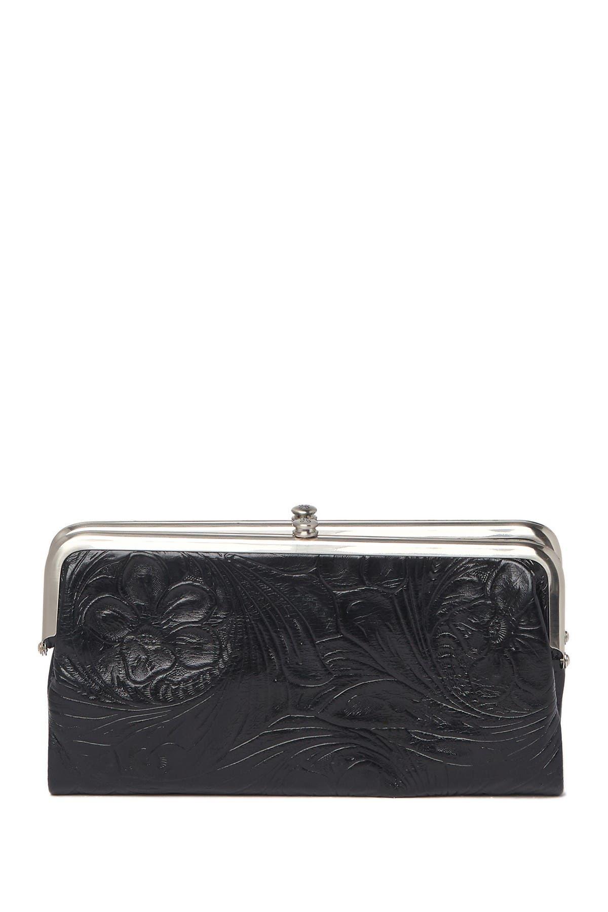 Image of Hobo Lauren Embossed Leaher Wallet Clutch