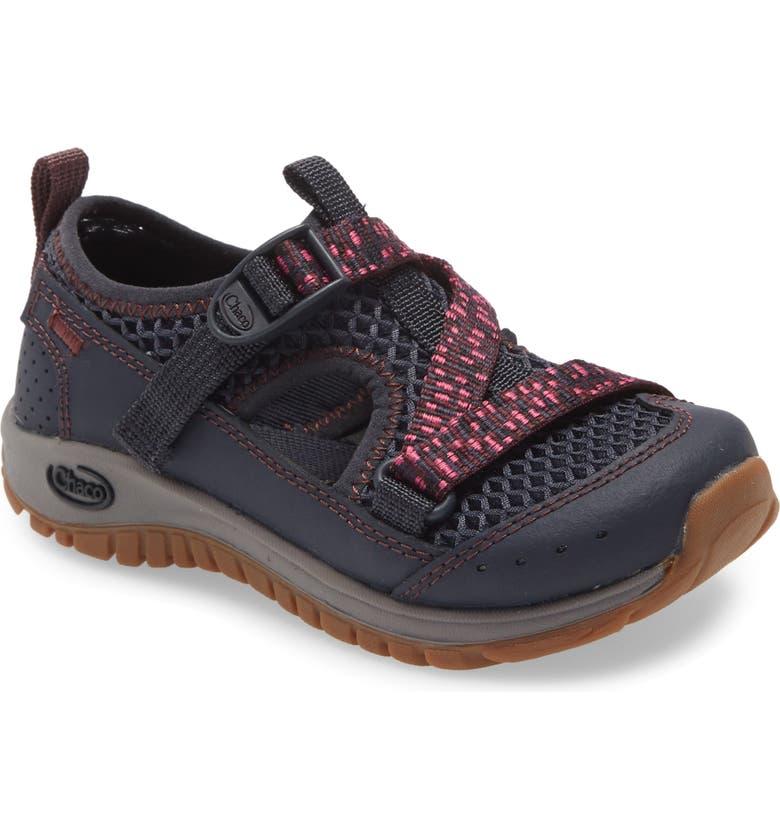 CHACO Odyssey Waterproof Hiking Sneaker, Main, color, PURPLE