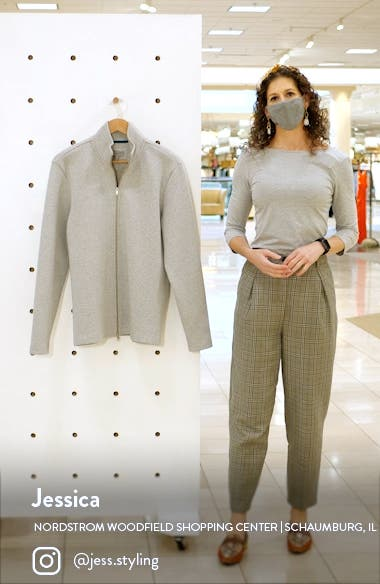 Hvar Zip Through Cotton Blend Sweater, sales video thumbnail