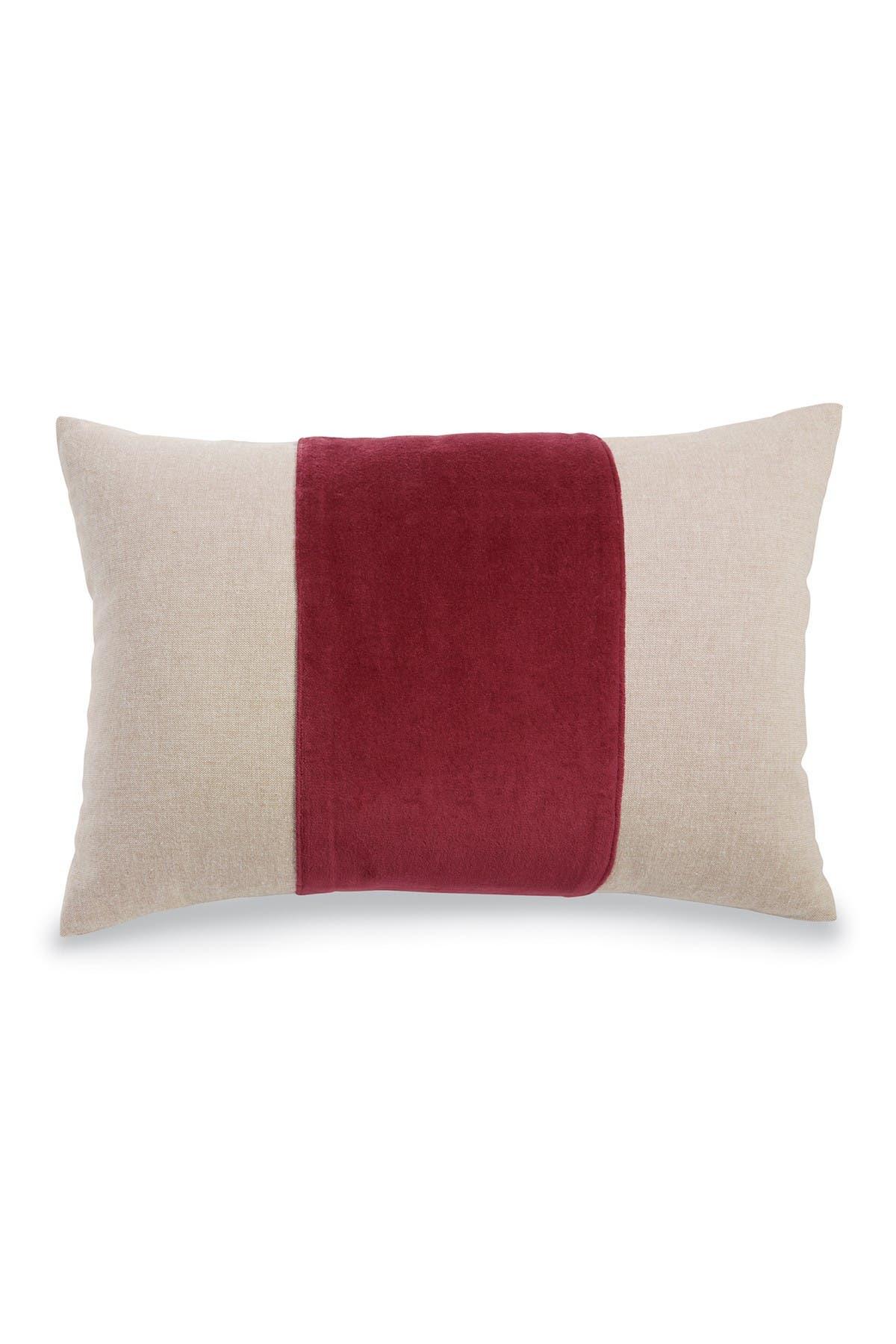 Mud Pie Rectangular Red Velvet Pillow Nordstrom Rack