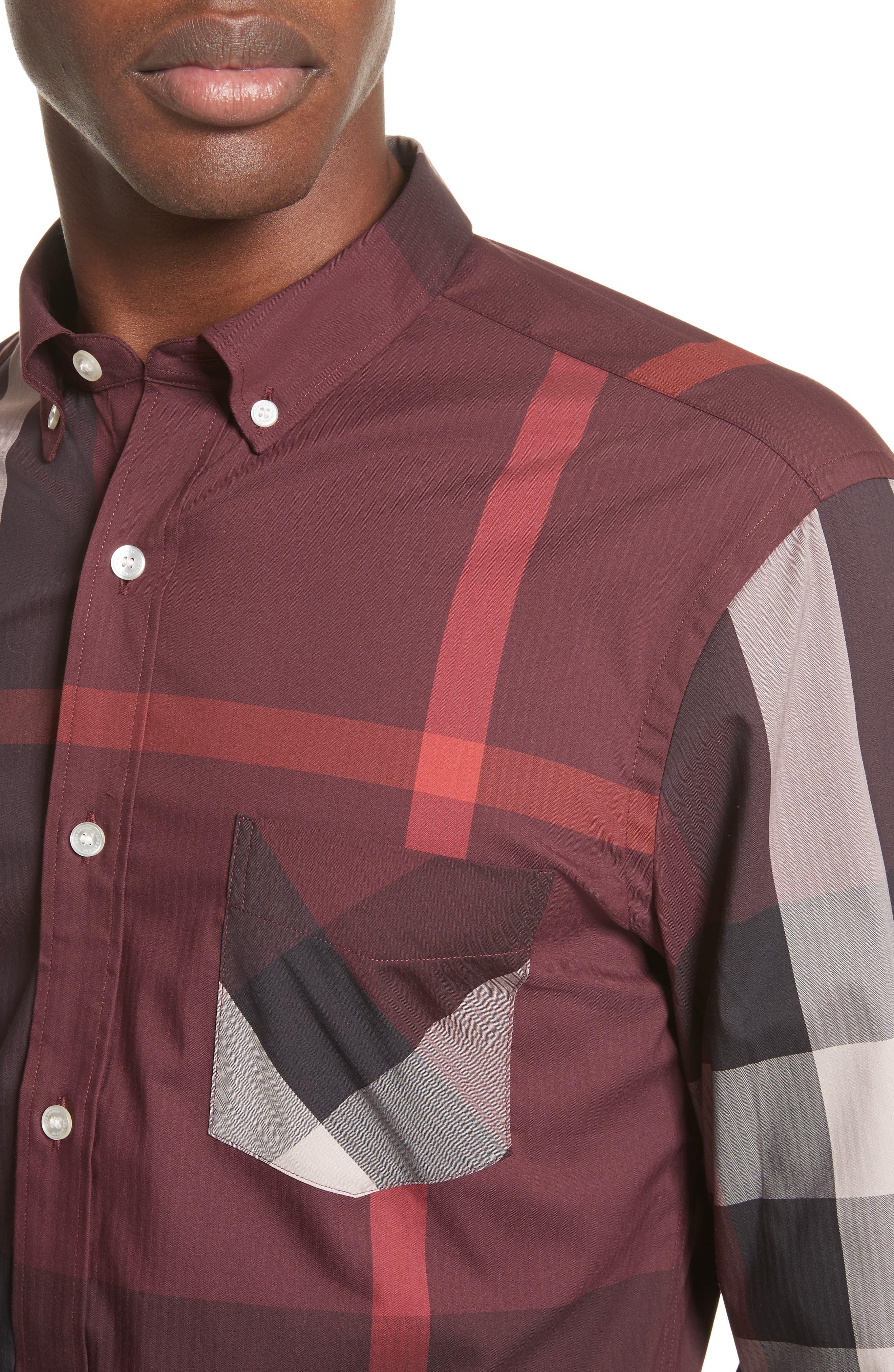 ,                             Thornaby Slim Fit Plaid Sport Shirt,                             Alternate thumbnail 56, color,                             936