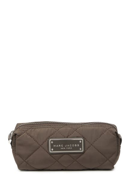 Image of Marc by Marc Jacobs Quilted Nylon Narrow Cosmetic Case