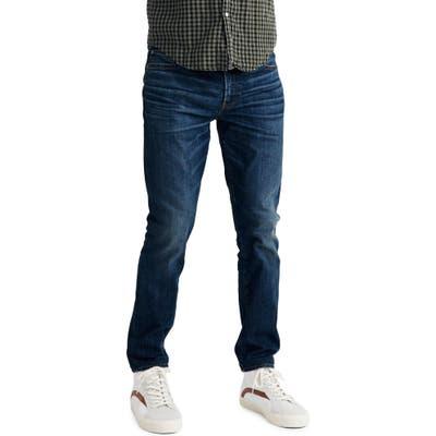 Madewell Skinny Jeans In Bramlett Wash, Blue